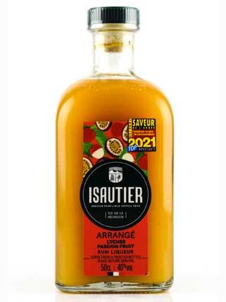 Rum Arrangé Isautier Lychee Passion Fruit